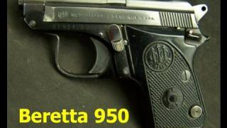 getlinkyoutube.com-Beretta Model 950 25acp Semi-Auto Pistol