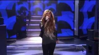 getlinkyoutube.com-Demi Lovato - Give Your Heart A Break (Live on American Idol)