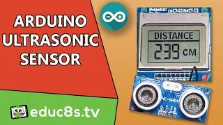 getlinkyoutube.com-Arduino Tutorial: Ultrasonic Sensor HC SR04 distance meter with a Nokia 5110 LCD display