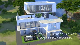 getlinkyoutube.com-The Sims 4 - House Building - Modern Beach House SQ