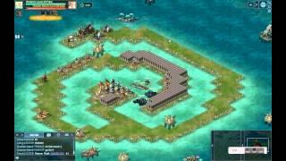 getlinkyoutube.com-Battle Pirates - New Crusader 2015 Base hits