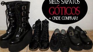 getlinkyoutube.com-Meus Sapatos Góticos + Onde Comprar! | ESTILO | DIVERSOS