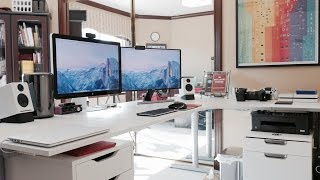 Ultimate Desk Setup Tour! - Fall 2014