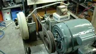getlinkyoutube.com-2HP Electric Motor Driven Smart Drive HV Generator
