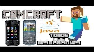 Minecraft En Tu Celular Con Java [Todas Las Resoluciones De Pantalla]   Comcraft