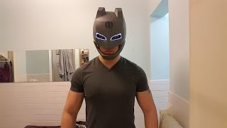 getlinkyoutube.com-Batman V Superman Batman Voice Changer Helmet
