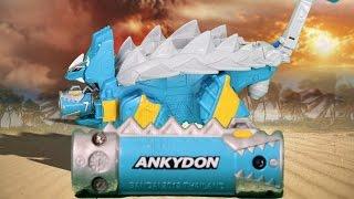 getlinkyoutube.com-파워레인저 다이노포스 티라노킹 공룡 장난감 동영상(獣電戦隊キョウリュウジャー Power Ranger Dino Force)