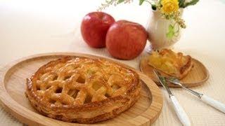 getlinkyoutube.com-【スイーツレシピ】アップルパイ Apple pie