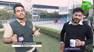 Vikrant Gupta talks TECH! | Sports Tak