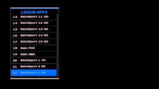 LEXUS IPTV ... l'impossible sur le FOREVER