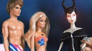 getlinkyoutube.com-Кукла Барби, все серии подряд, Водный мир, Барби и Челси русалки, Малефисента спасает Челси