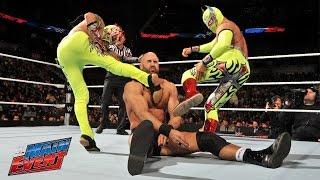 getlinkyoutube.com-Lucha Dragons vs. Tyson Kidd & Cesaro: WWE Main Event, February 28, 2015
