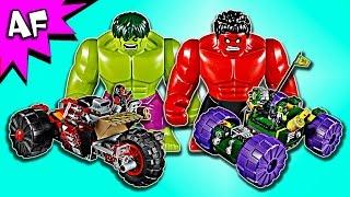 getlinkyoutube.com-Lego Marvel HULK vs RED HULK 76078 Speed Build