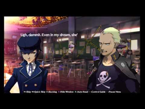 48 Persona 4 Arena Story Walkthrough HD PS3 (Kanji Tatsumi - Naoto)