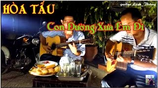 getlinkyoutube.com-Con đường xưa em đi * HÒA TẤU guitar Lâm_Thông * Ducmanh_guitar bolero _youtube