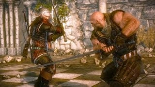getlinkyoutube.com-Geralt Kills Letho: Final Battle. Kingslayer's Death (The Witcher 2 | Boss Fight)