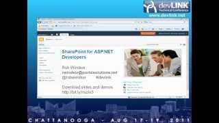 getlinkyoutube.com-SharePoint 2010 for ASP.NET Developers