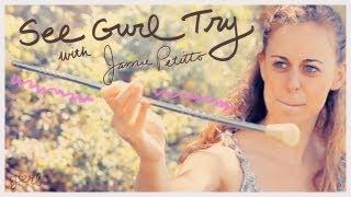 getlinkyoutube.com-Baton Twirling - See Gurl Try
