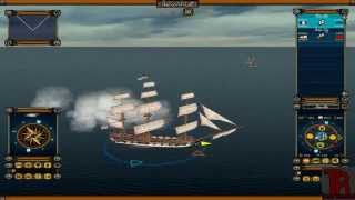 getlinkyoutube.com-Age of Sail II gameplay