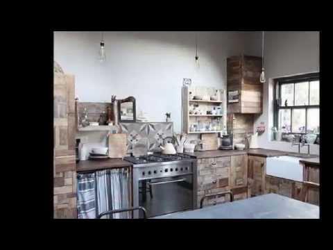 Come realizzare una cucina a isola usando i bancali fai - Isola cucina fai da te ...