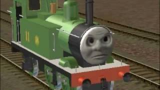 getlinkyoutube.com-Thomas' Trainz Adventures - Oliver Owns Up