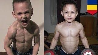 getlinkyoutube.com-Самые сильные мальчики в мире: 9-летний Джулиан и 7-летний Клаудио Стро