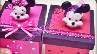 getlinkyoutube.com-DIY. CARA DE MINNIE Y MICKEY MOUSE EN PORCELANICRON O PORCELANA FRÍA