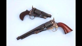 getlinkyoutube.com-EMF Snub Nose 1860 Army Revolver