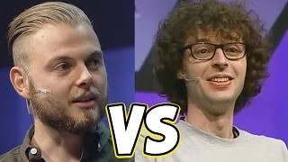 getlinkyoutube.com-STAMPY VS SQUID! - MINECON 2016
