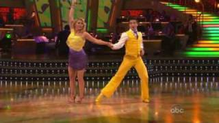 getlinkyoutube.com-Melissa Joan Hart & Mark Ballas - Salsa