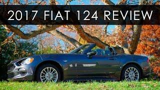 getlinkyoutube.com-Review | 2017 Fiat 124 Spider | When Basic is Better