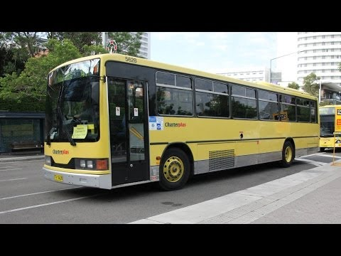CharterPlus (CDC Group) TV 5628 - Volvo B10M Mk 4 (ZF/CC 510) - Rail Replacement