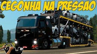 getlinkyoutube.com-VOLVO FH TEGMA NA CEGONHA - VIAGEM NA PRESSÃO - LOGITECH G27!!!