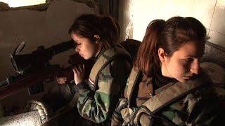 Mujeres letales en el ejército sirio