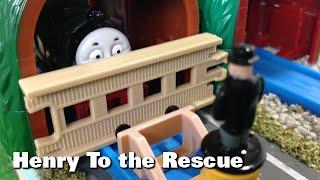 "getlinkyoutube.com-トーマス プラレール ガチャガチャ ヘンリーだいかつやく Tomy Plarail Thomas ""Henry To The Rescue"""