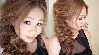 getlinkyoutube.com-Big Messy Prom Hair Tutorial