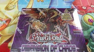 getlinkyoutube.com-Luckiest Yugioh Dimension of Chaos 1st Edition Booster Box Opening Ever!!