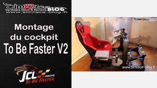getlinkyoutube.com-Montage du Cockpit To Be Faster V2 de JCL Simracing - Simrace Blog