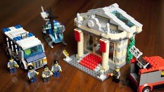 getlinkyoutube.com-Lego City 60008 Museum Break-In Unboxing - Build - Review