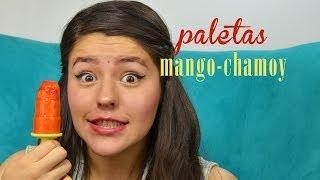 PALETAS MANGO CON CHAMOY-LIMON   MUSAS