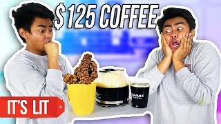 $1 COFFEE VS $125 COFFEE!
