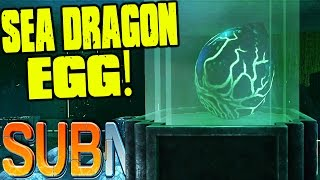 getlinkyoutube.com-Subnautica - SEA DRAGON EGG FINDING, WARPER BUILDING - (Subnautica Precursor Gameplay)