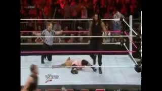 Top 10 Spear of Roman Reigns 2013