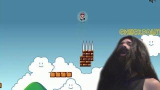 getlinkyoutube.com-BarbaKahn juega Unfair Mario    ME VIVEN CAGANDO