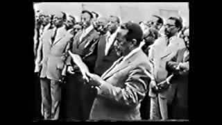 Colonel Mengistu last year in power,1990 English Documentary