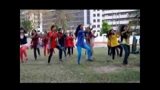 getlinkyoutube.com-ICC T20 World Cup 2014  Flash Mob By Eden Mohila College