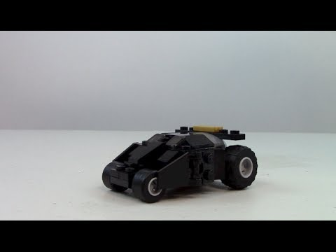 LEGO The Batman Tumbler Polybag Review, Set 30300