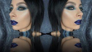 getlinkyoutube.com-OCC Holiday Loose Color and Glitter Makeup Tutorial