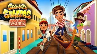 getlinkyoutube.com-Subway Surfers: Venice - Samsung Galaxy S6 Edge Gameplay