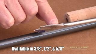 """Flex Coat Co. - Buildin' a Pre-Shaped Cork Handle """"How We Do It"""""""
